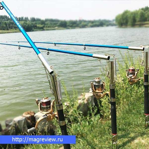 Рыбалка самоподсекающей удочкой