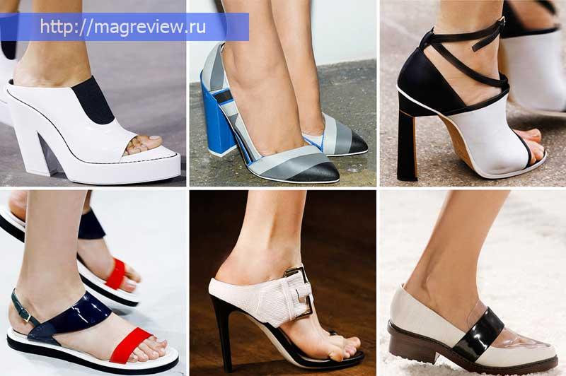 Женская обувь 2019 года