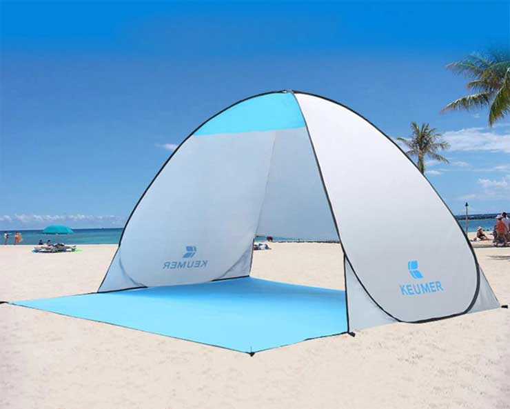 Kreumer автоматическая пляжная палатка