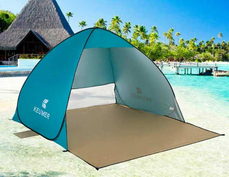 Пляжная палатка от солнца Keumer