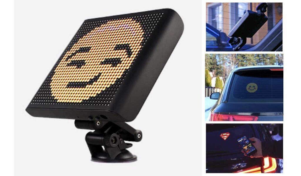 Автомобильный Emoji дисплей 3D изображения