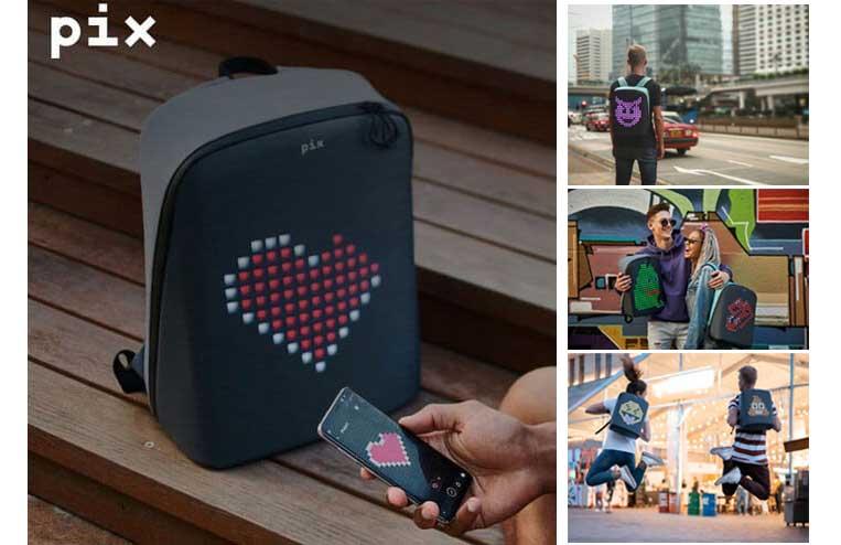 Цифровой рюкзак Pix