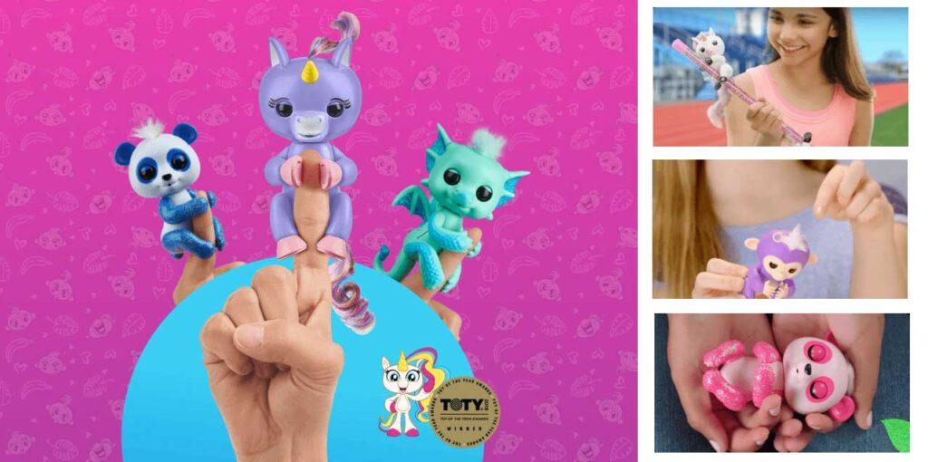Интерактивные игрушки Fingerlings