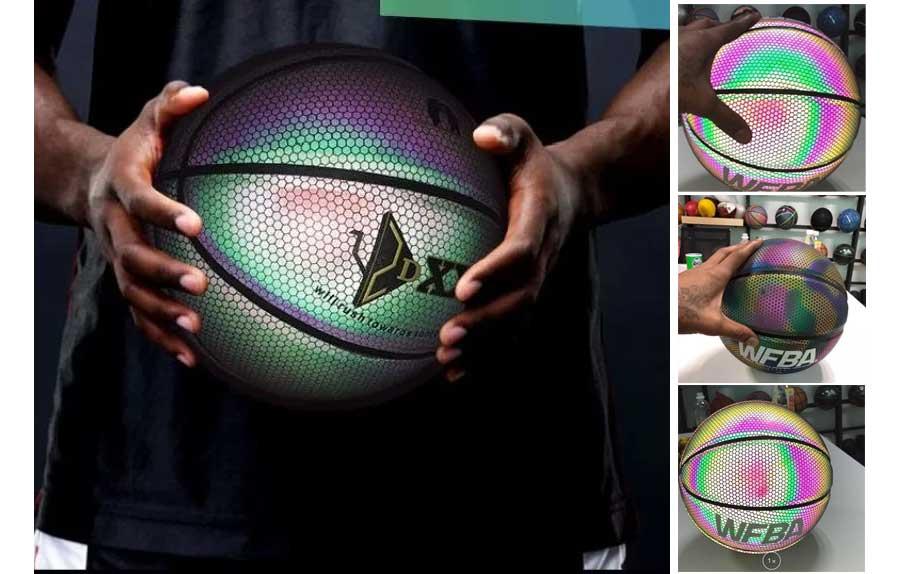 Светящиеся футбольные и баскетбольные мячи GlowBall