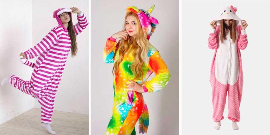 Пижамы Кигуруми для девочек