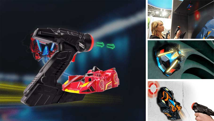 Антигравитационная машинка Laser Racer