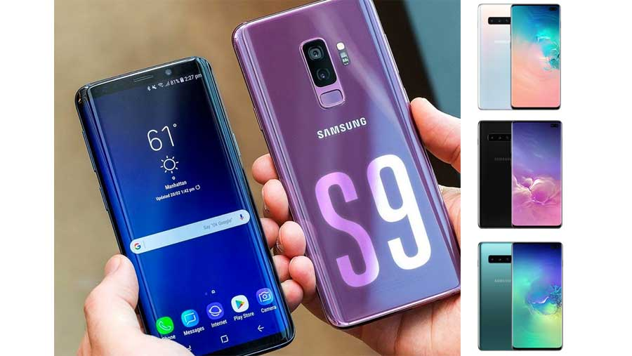 Samsung Galaxy S9 за 7990 рублей
