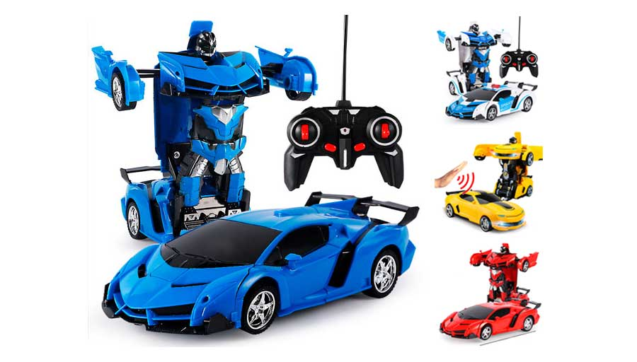 Машинка робот-трансформер