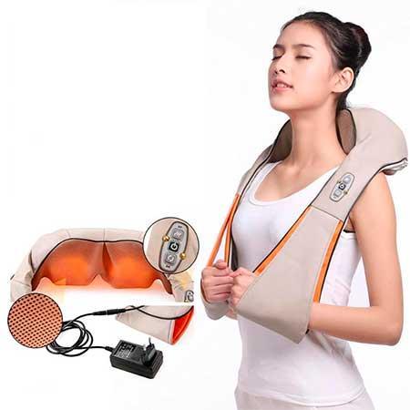 Массажер для шеи и спины с прогревом