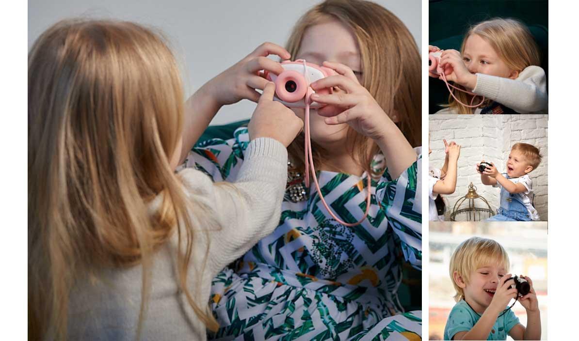 Детский фотоаппарат Lumicam